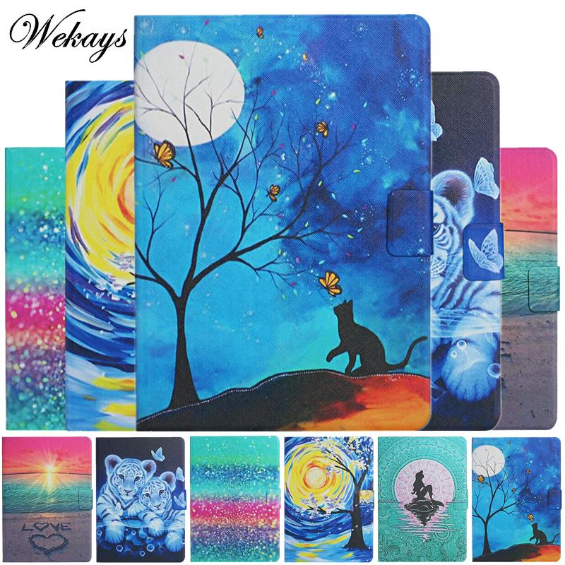For Huawei MediaPad M5 Lite 10 Case BAH2-L09/W19/W09 Cute Cartoon Leather Cover For Huawei MediaPad M5 Lite 10.1 inch Cover Case