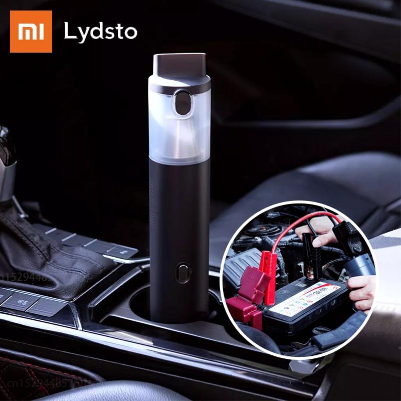 شاومي Lydsto مكنسة كهربائية محمولة للسيارة إمدادات الطاقة في حالات الطوارئ 10000mAh اثنين في واحد متعددة الوظائف لمكتب المنزل سيارة
