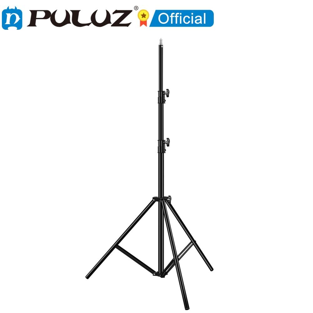 2021 PULUZ-trpode plegable de 3 sections y soporte de luz para fotografía...
