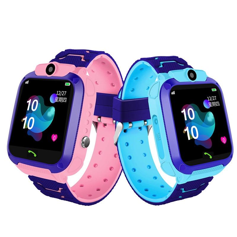 Reloj inteligente para niños, resistente al agua, con teléfono inteligente de posicionamiento, resistente al agua, multifunción para estudiantes, chicos y chicas