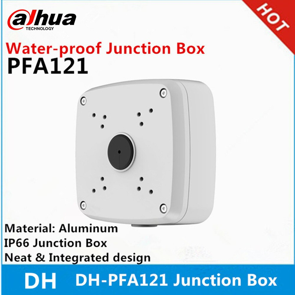Oroginal Dahua PFA121 Aluminium Material Wasser-proof Junction Box DH-PFA121 Junction Box unterstützung DH pistole Kamera