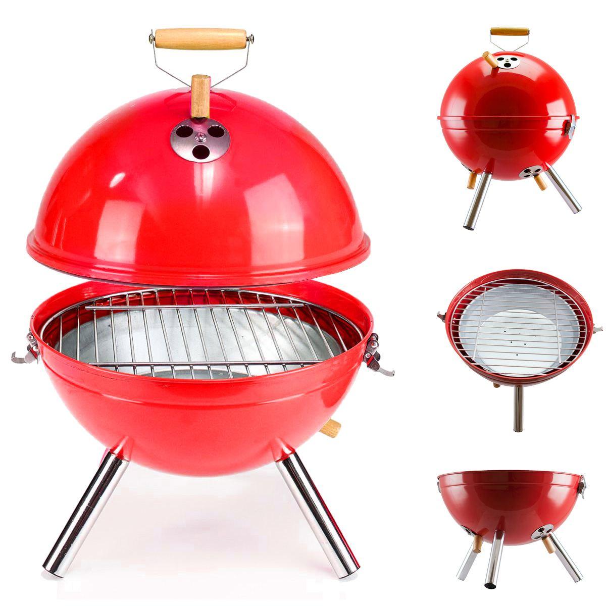 Mini Parrilla de carbón portátil para Barbacoa, parrilla ligera para cocina al...