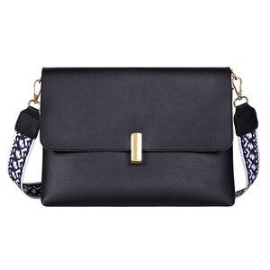 Good Qualtiy Women Leather Crossbody Bag Casual  Shoulder Outdoor Bags Travel School Retro Zipper Shoulder Bags
