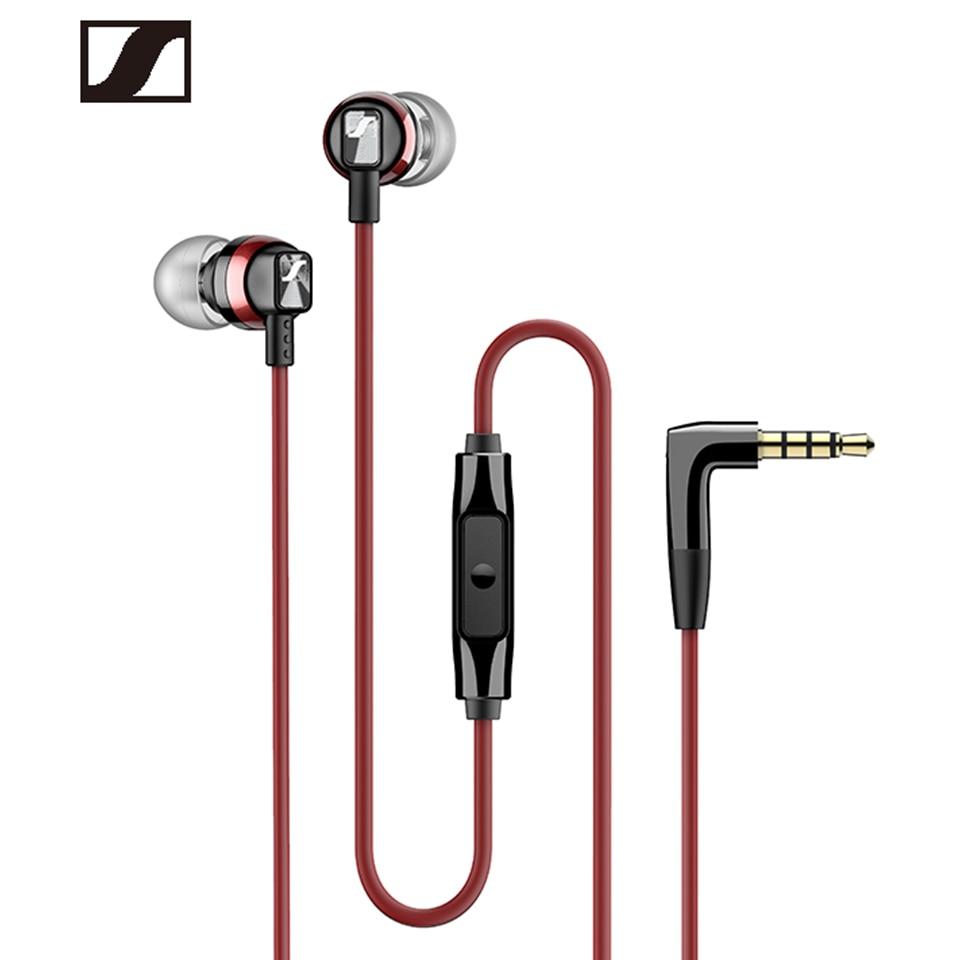 Sennheiser-سماعة رأس CX300S لأجهزة iPhone و Samsung ، سماعة رأس رياضية سلكية مع تقليل الضوضاء وباس ستيريو لأجهزة iPhone و Samsung ، 3.5 مللي متر