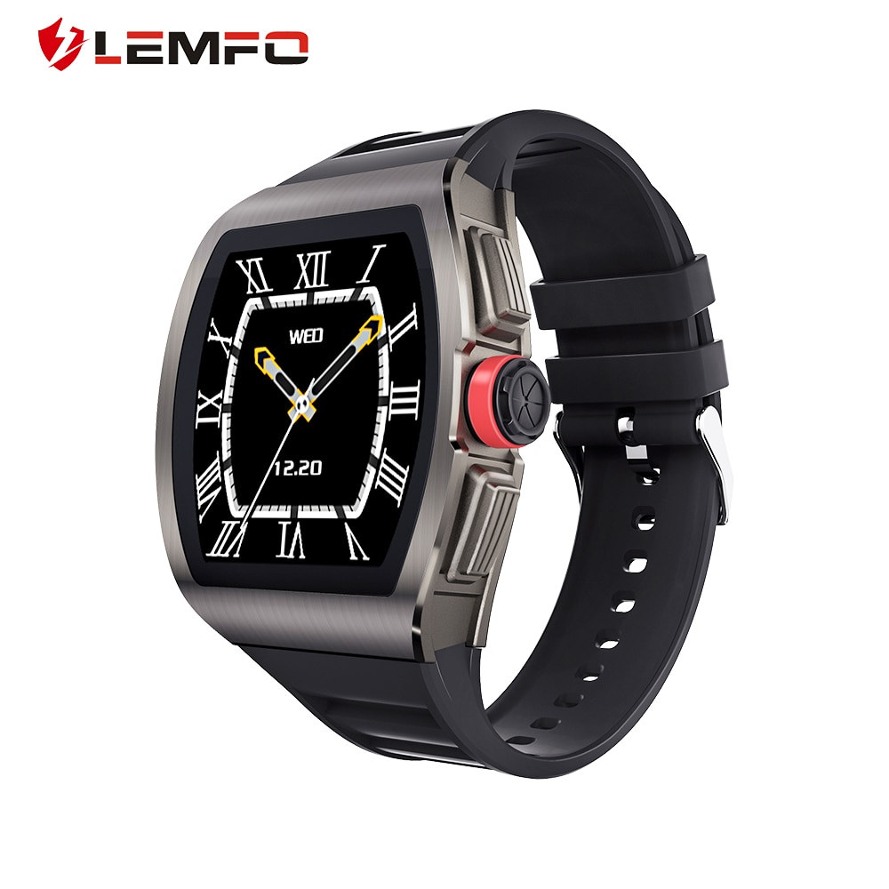 LEMFO M1 Smart Watch Women Waterproof Heart Rate Blood Pressure Monitoring and Sleep Test for Android IOS