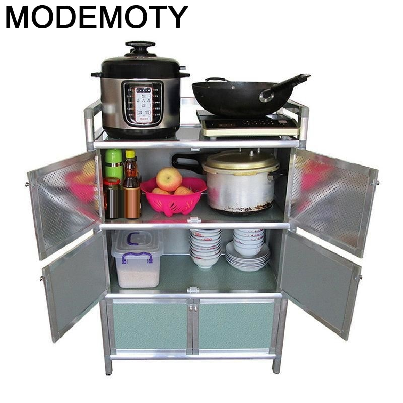 Armario de aleación de aluminio Para habitación, Mueble de Cocina, lateral