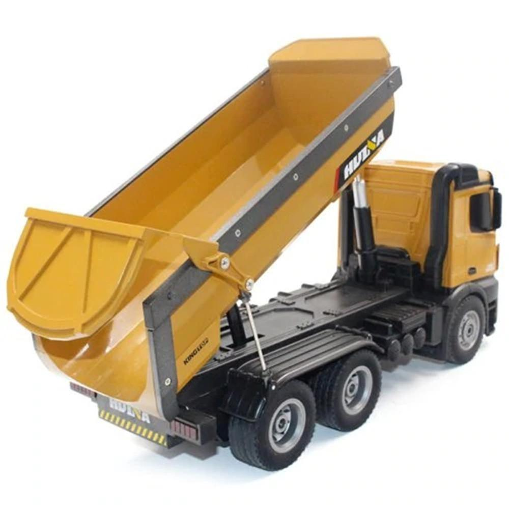 fast free dropship Huina 1573 RC Big Dump Truck 1/14 10 channels 2.4GHz 7.2V 400mAh from EU/USA/CANADA/AUSTRALIA enlarge