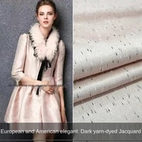 elegant solid color jacquard dress fabric sewing fabric factory shop is not out of stock