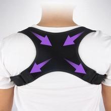 New Hot Posture Corrector Adjustable Back Support Belt Spine Back Shoulder Brace Support Belts Adult