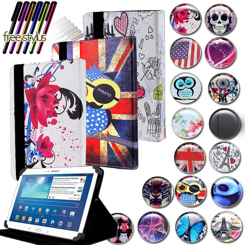 cute cartoon owi elephant pu leather stand case for samsung galaxy tab 3 10 1 p5200 p5220 p5210 gt p5200 tablet cover coque KK&LL For Samsung Galaxy Tab 3 10.1 p5200 GT-P5210 - Leather Tablet Stand Folio Cover Case + Free stylus