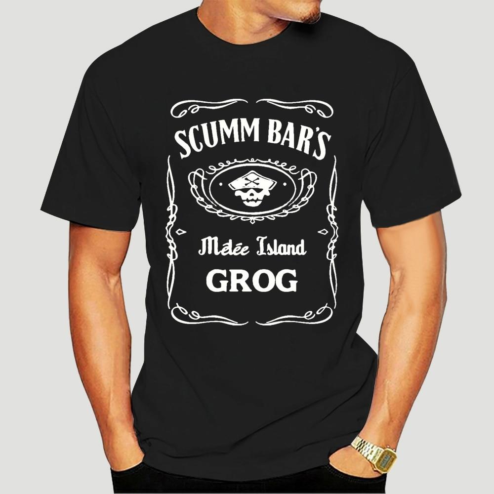 Camiseta informal con estampado para hombre de camisa de diseño de cóctel...