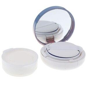 1pcs Air Cushion Sponge Powder Puff Empty Box Liquid Foundation BB Cream Sponge Dispensing Hold Cases DIY Beauty Make Up Case