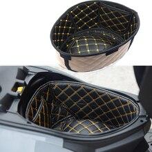 Moto boîte de rangement en cuir coffre arrière Cargo Liner protecteur accessoires pour SYM JOYMAX Z300 CRUISYM 150 180 300 FNX150