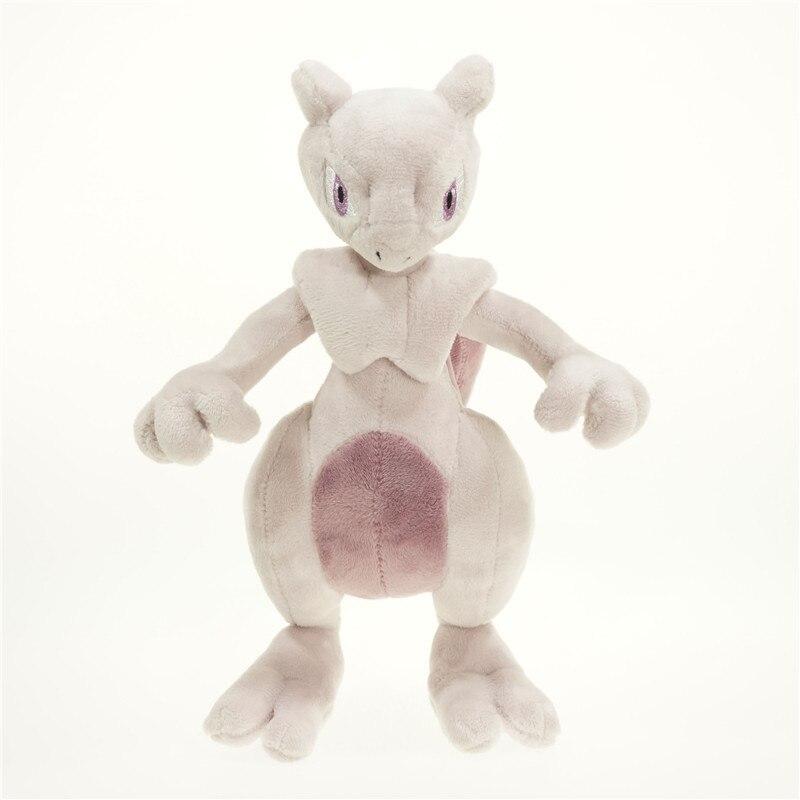 30 см Mewtwo плюшевый TAKARA TOMY Аниме Фигурка Покемон Пикачу игрушки Подушка Дети Кукла Для Chlidren подарок
