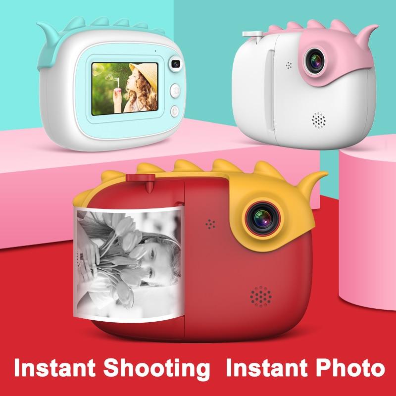كاميرا مطبوعة فورية للأطفال ، 3.0 بوصة ، 1080 بكسل ، كاميرا رقمية للأطفال ، لعبة للأولاد والبنات