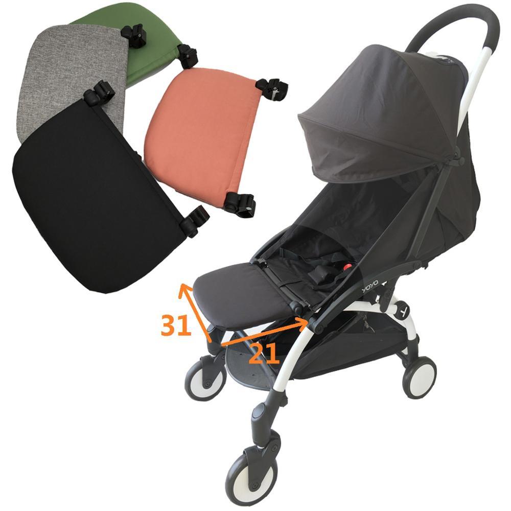 هايت جودة عربة طفل الملحقات منضدة الساق مجلس ل Babyzenes يويو 2 Yoya YuYu عربة مسند القدم 15 سنتيمتر أو 21 سنتيمتر