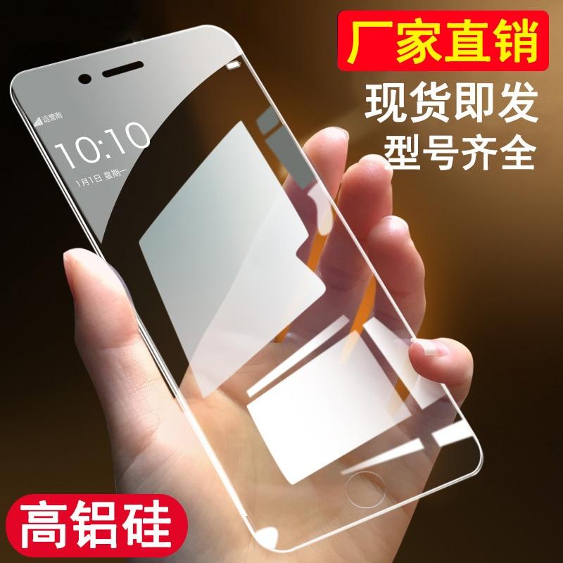 Para Apple 11, cristal templado, 7, totalmente transparente, X R, Pantalla Completa de alta definición de iPhone X, película de protección de 8p, 11Pro, protección de teléfono