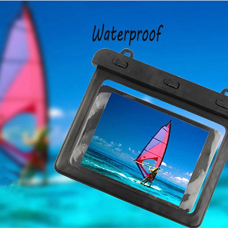 Polvo 7-8 pulgadas resistencia al agua funda protectora impermeable tableta bolsa seca para Ipad Mini1/2 /3 KindleSamsung MiPad2/3
