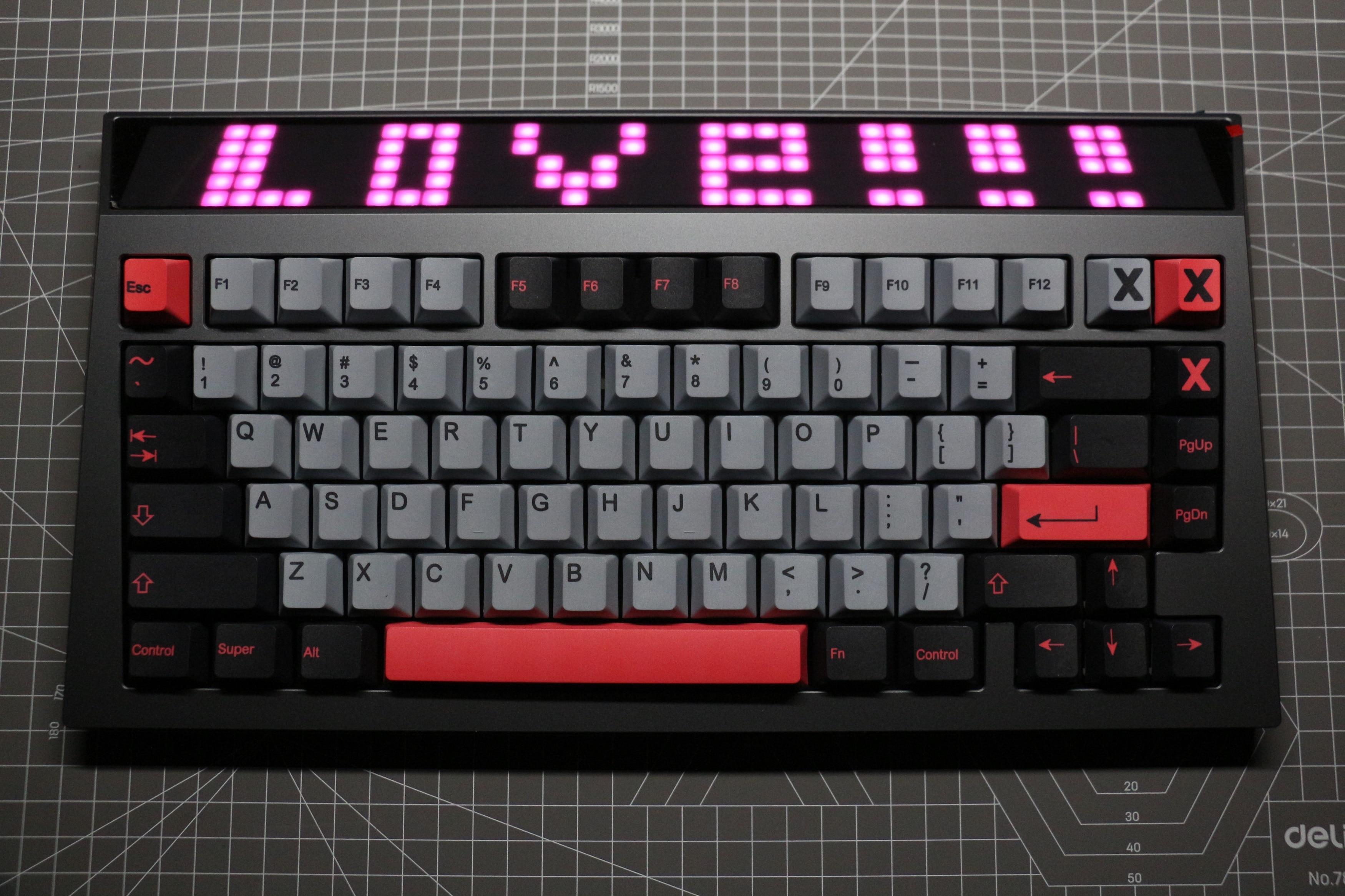 غطاء مفتاح تصعيد للوحة المفاتيح الميكانيكية PBT موديل 8008