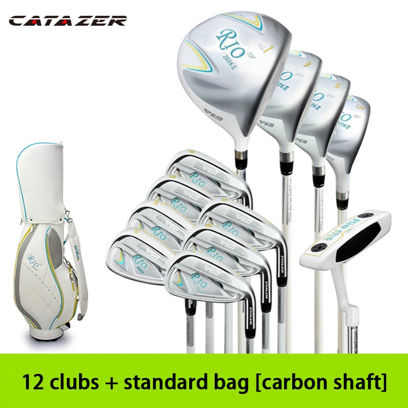 Catazer Golf Clubs Golf Court Practice Clubs Golf Ladies Clubs Full Set of Clubs Half Set of Clubs