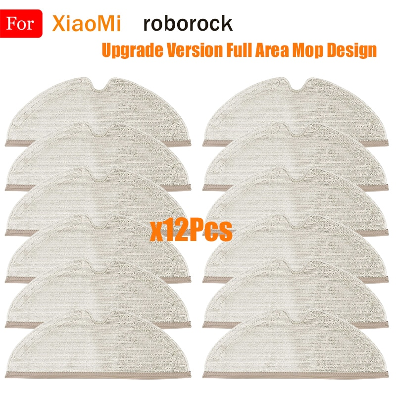 New Mop Cloths Rags Accessories For XiaoMi Roborock S5 Max S6 Pure S6 MaxV S5 S51 S50 S55 Xiaowa E25 E35 Vacuum Cleaner Parts