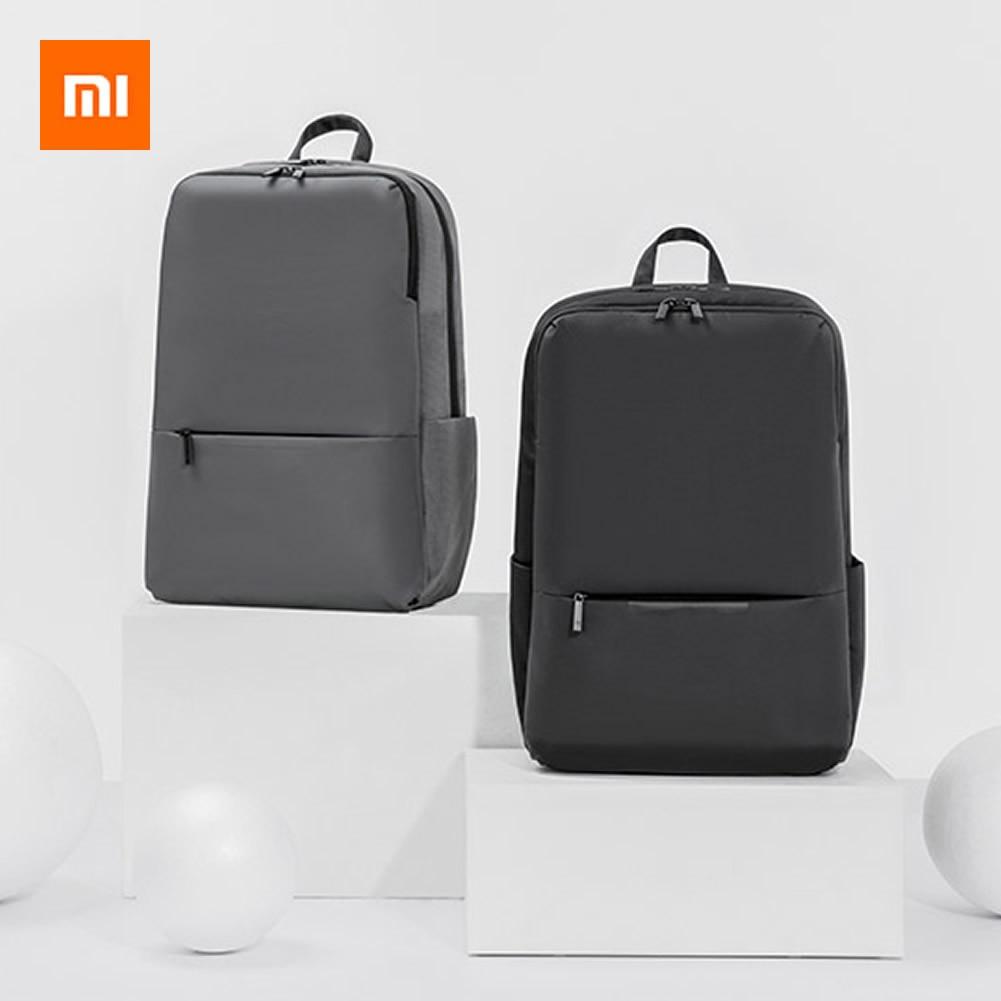 شاومي كلاسيك الأعمال على ظهره 2 جيل الترفيه 15.6 بوصة حقيبة كمبيوتر محمول مقاوم للماء وظيفية السفر حقيبة مدرسية دروبشيبينغ