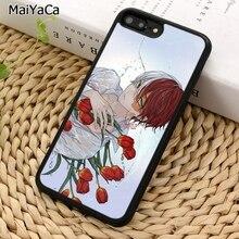MaiYaCa Shoto Todoroki My Hero Academia Phone Case For iPhone 5 6S 7 8 plus 11 Pro X XR XS Max Samsung Galaxy S6 S7 S8 S9 S10