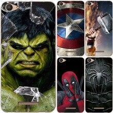 Super-héros housse de téléphone pour BQ BQ-5059 puissance de frappe BQ 5059 BQ5059 Superman couverture arrière sacs pour BQ 5059 BQ5059 étui Fundas