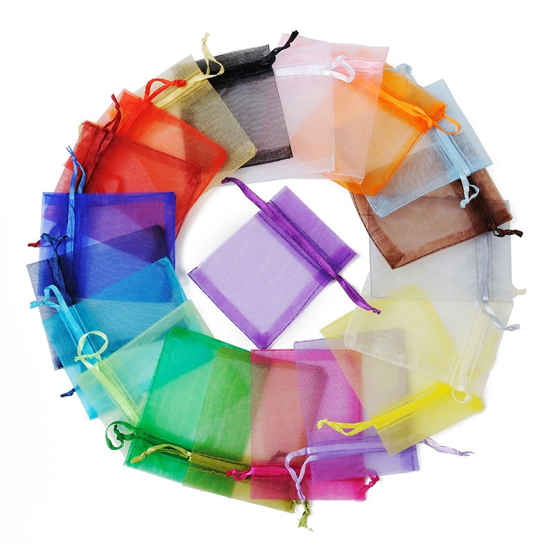 Мешочки-из-органзы-для-ювелирных-украшений-сумочки-на-шнурке-7-Х9-см-10-20-50-100-шт