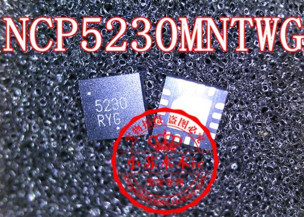 {New originais} 5pcs NCP5230 5230 NCP5230MNTWG QFN-16