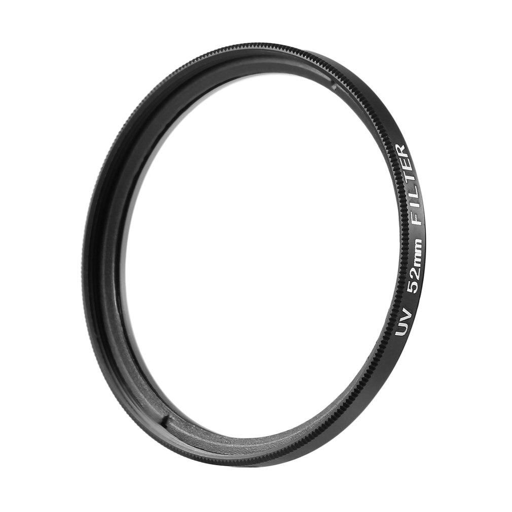 52mm/58mm/67mm haze uv filtro lente protetor óptica vidro & metal material com armação de metal para dslr slr dc dv câmeras lente