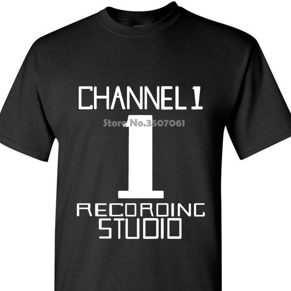 Canal 1 camiseta todas las tallas Cols ( One Hoo Kim Reggae Dub Sly Robby) manga hombres camiseta moda abrigo ropa tops