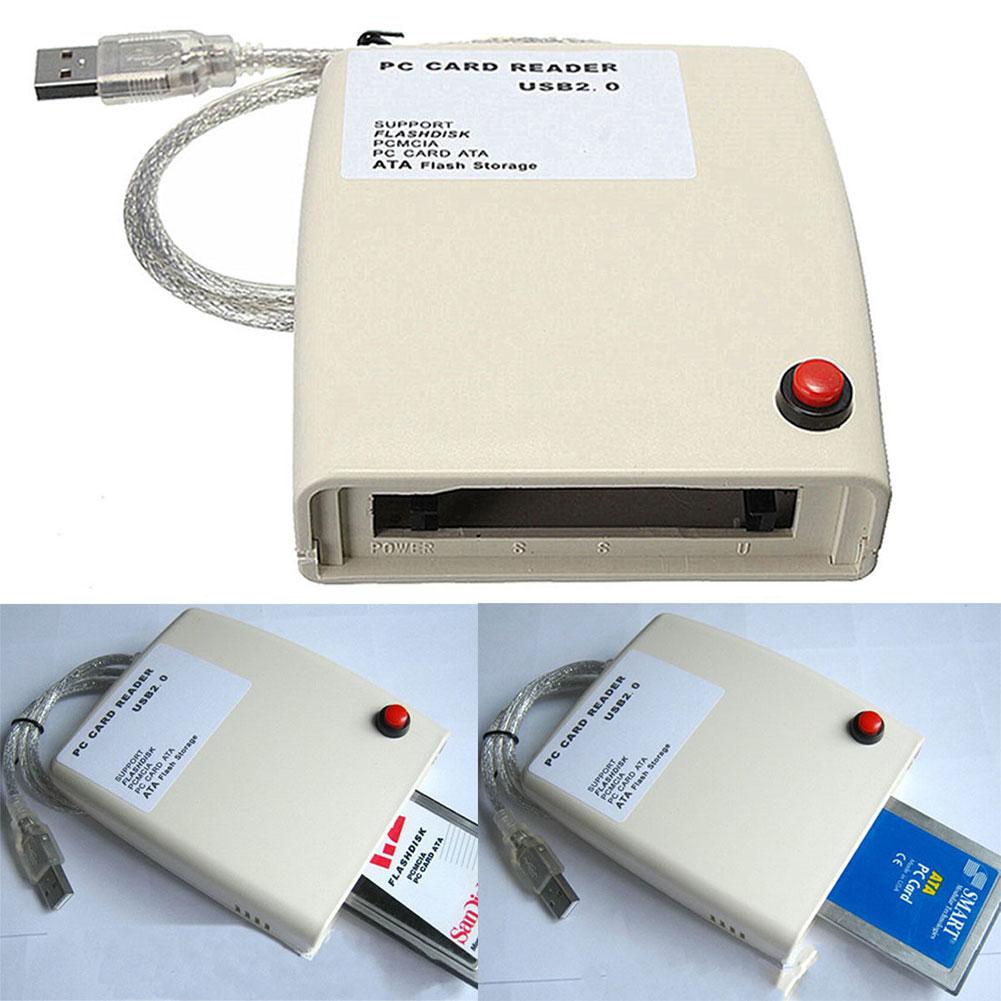 Convertidor lector de tarjetas útil adaptador de disco Flash Plug And Play USB a 68 Pin ATA reconoce automáticamente la memoria del ordenador portátil