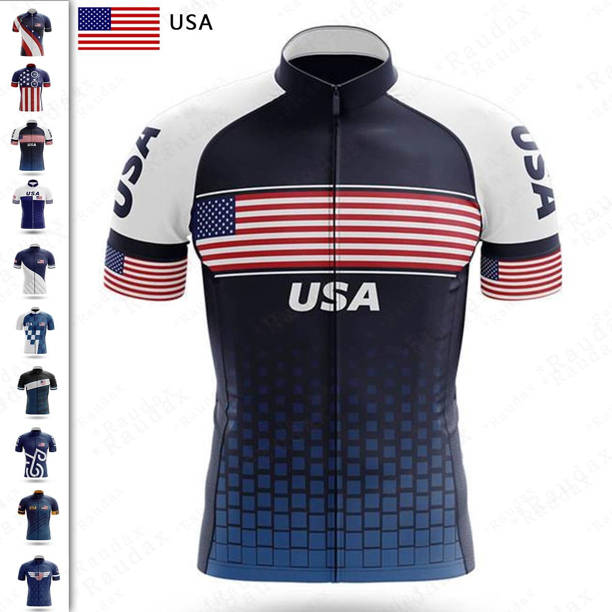 Camiseta De Ciclismo con bandera para hombre, ropa De descenso profesional, deportiva,...
