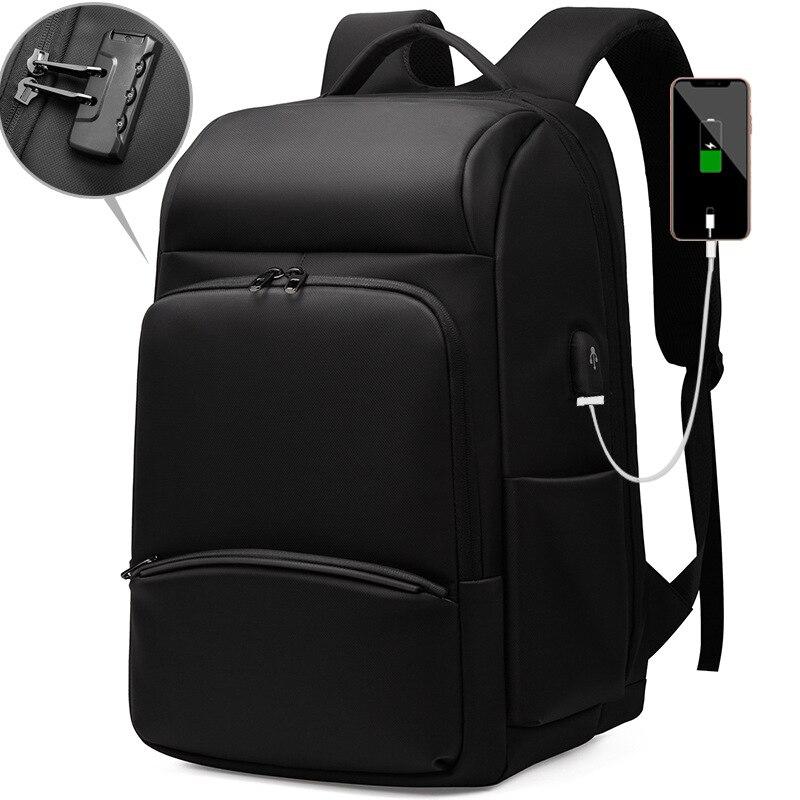 Weysfor Vogue-حقيبة ظهر للكمبيوتر المحمول مقاس 17 بوصة مضادة للسرقة للرجال والنساء ، حقيبة ظهر مع شاحن USB ، مقاومة للماء ، للسفر