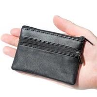 women men coin purse men small bag wallet change purses zipper money bags children mini wallets leather key holder carteira