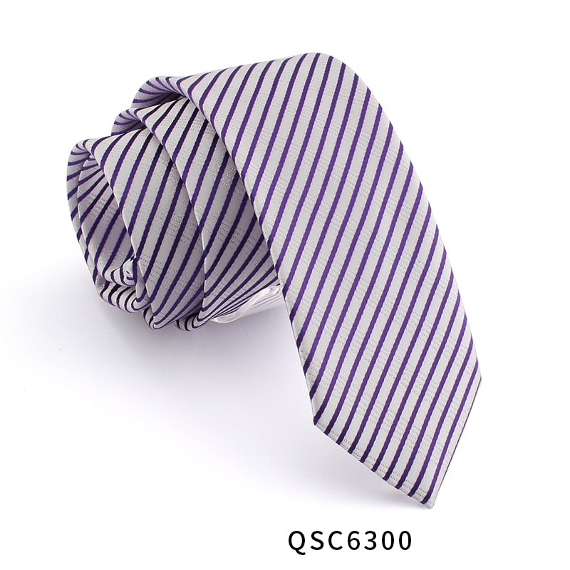 High Quality 2019 New Designers Brands Fashion Business Casual 7cm Slim Ties for Men Necktie Paisley Striped with Gift Box