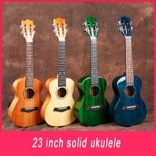 23 zoll Massivholz Ukulele Picea Asperata 4 Saiten Mini Gitarre Hawaii Gitarren für Professionelle player Anfänger ukelele UK2358