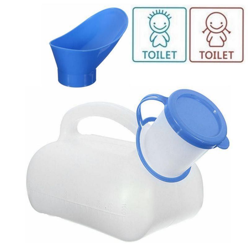 Outdoor Portable Urine Bottle Bag Women Men Children 1000ml Mini Toilet For Travel Camp Hiking Potty