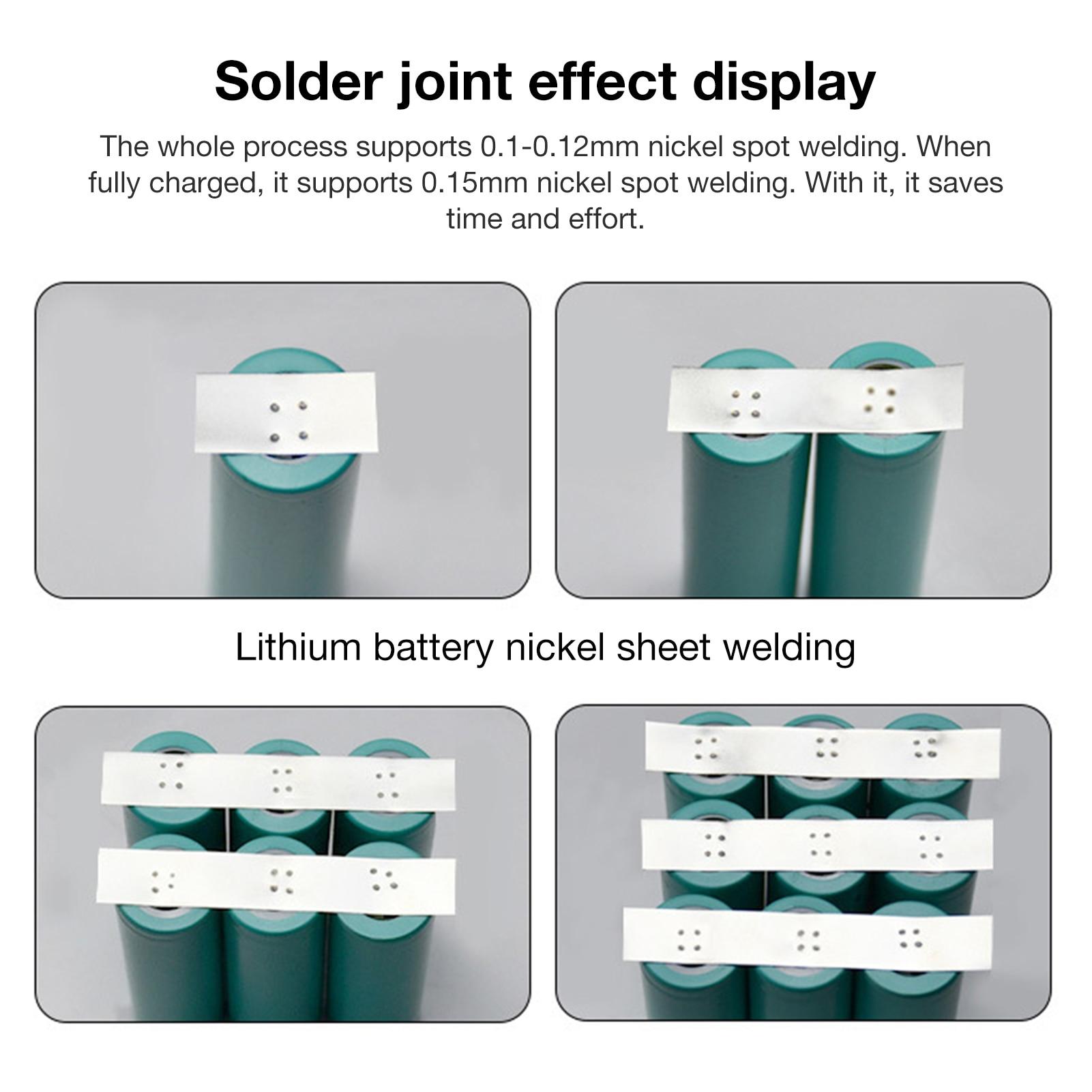 Spot Welder Portable 6 Gears Adjustable Mini Spot Welding Machine For 18650 Battery Spot Welder Spot Welding Machine Tool Kit