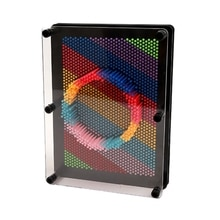 Pin de plástico 3D antiestrés, modelo de mano clon artístico, juguete de Chico, tabla de aguja Pinsn, esculturas de pintura para tallar, regalo (20
