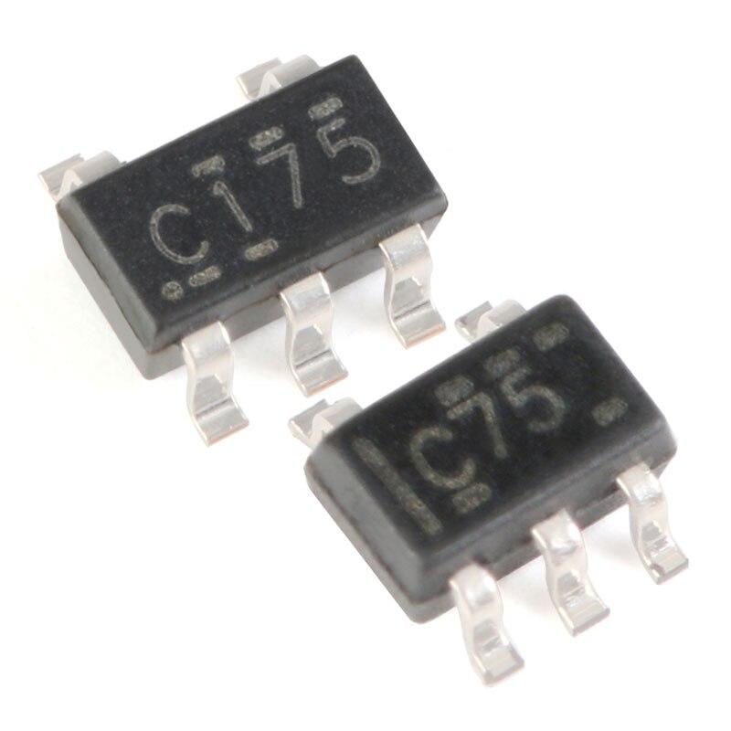 10 pces sn74lvc1g17dbvr sn74lvc1g17dckr single-channel schmidt gatilho buffer integração eletrônica