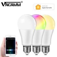 Ampoule LED intelligente  E27  15W  wi-fi  16 millions de couleurs  variable  compatible avec Apple HomeKit et Siri  commande vocale
