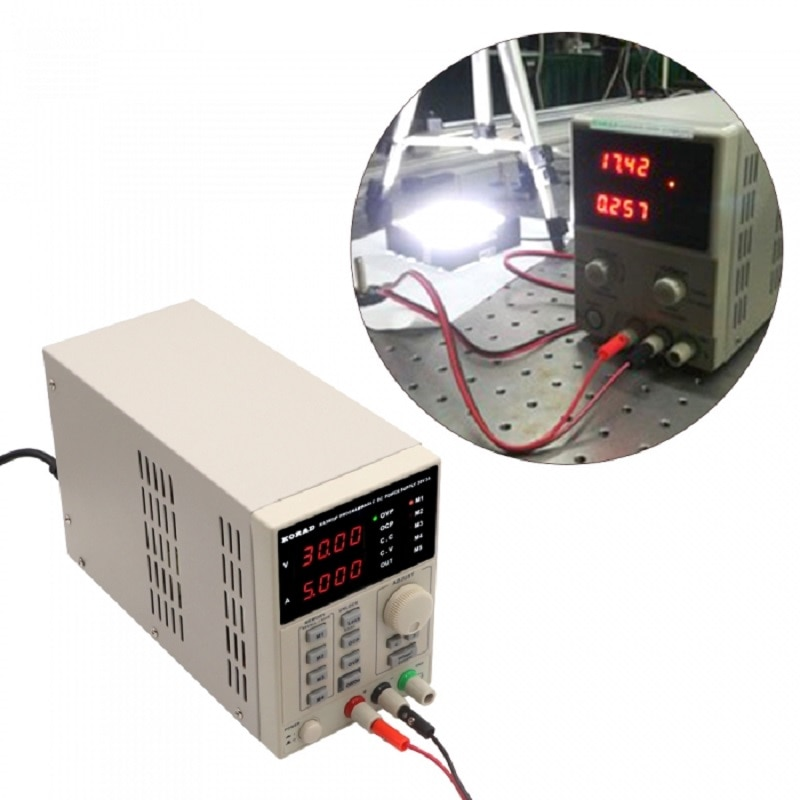 Fonte de alimentação regulada digital do laboratório da fonte de alimentação dc programável de 30 v 5a ka3005d único-canal para o reparo do telefone móvel