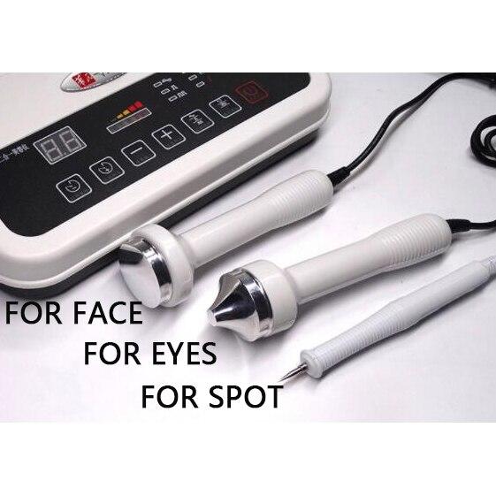 NEW 3in1 ultrasonic beauty instrument Ultrasound Facial Body Massager for facial detoxification slight spot enhance face lifting