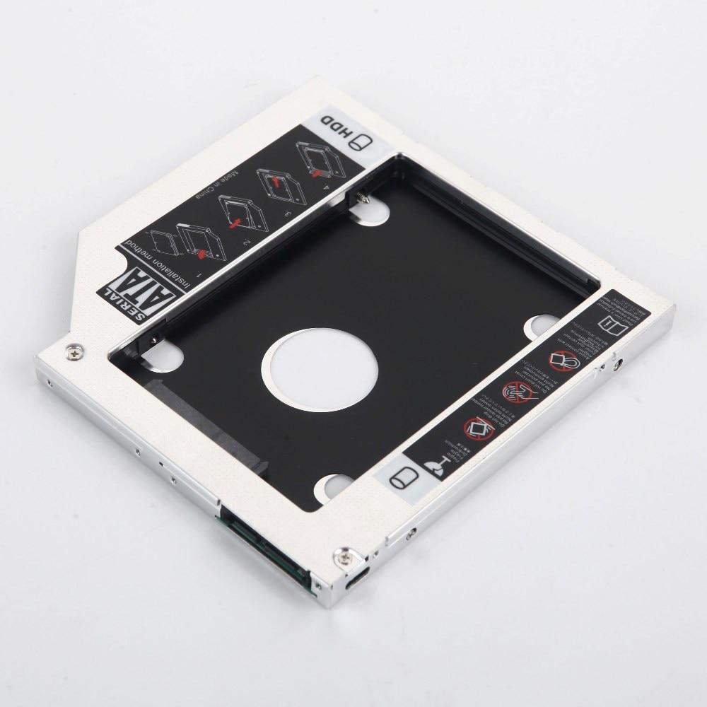 9.5mm 2nd HDD SSD Hard Drive Optical bay Caddy Frame Adapter for HP 240 350 355 250 255 455 G1 G2 G3 G4 G5 DU-8A4SH
