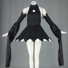 Halloween Anime mangeur dâme Cosplay déguisement Cosplay noir étoile Cosplay chat magique fille robe sorcière tenue