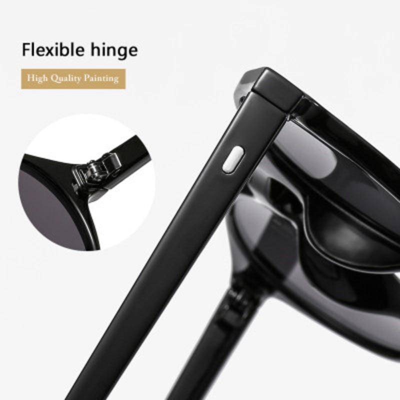 retro round small frame sunglasses men women brand designer vintage black sun glasses trendy ocean lens eyewears ladies UV400