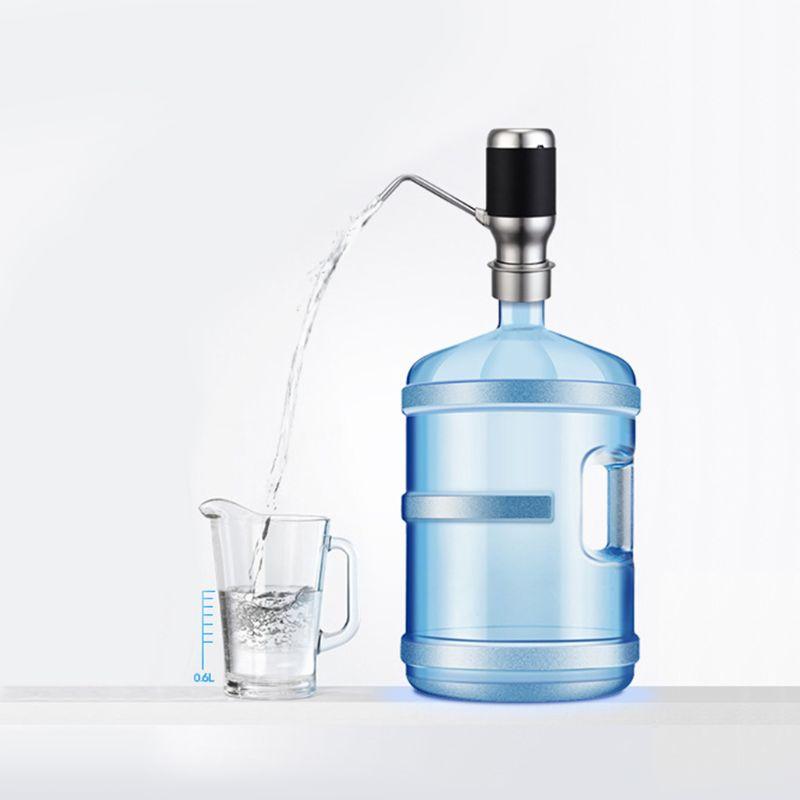 مضخة مياه الشرب الكهربائية اللاسلكية ، موزع ذكي مع USB قابل لإعادة الشحن ، Y98B