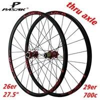 mountain wheel bicycle wheel 24 hole barrel shaft straight pull spoke six jaw base 26 27 5 29 700c matte black